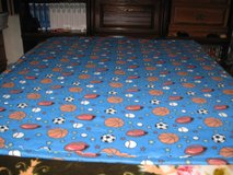 Handmade fleece  sports blanket for a boy only1 in Fort Bragg, North Carolina