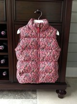 Girls Lands End Down Vest - Flower Pattern Size 5-6 in Chicago, Illinois