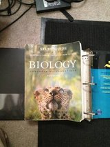 concepts in biology book & study guide 6th edition in Camp Pendleton, California