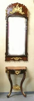 Antiques wall console with mirror  BY DEALER in Ramstein, Germany