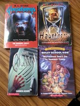 Goosebumps: -The Barking Ghost, The Haunting Hour,The Claw,Werewolves Don't Go To Summer Camp in Naperville, Illinois