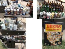 Beer Bottle & Beer Can & Beer Mug Collections - Lowered Price! in Lawton, Oklahoma