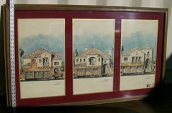 Triple print.Matted large framed picture in Yucca Valley, California